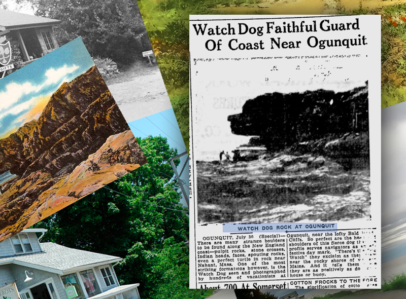 Ogunquit Maine - Then and Now