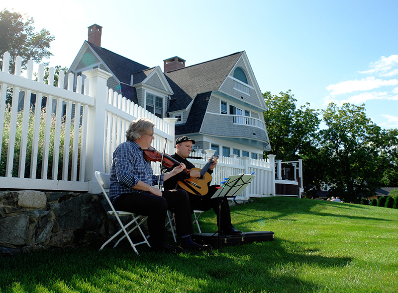Marginal Way Garden Party - Ogunquit Maine