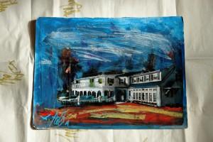 John Ross Palmer Paints The Hartwell House Inn of Ogunquit