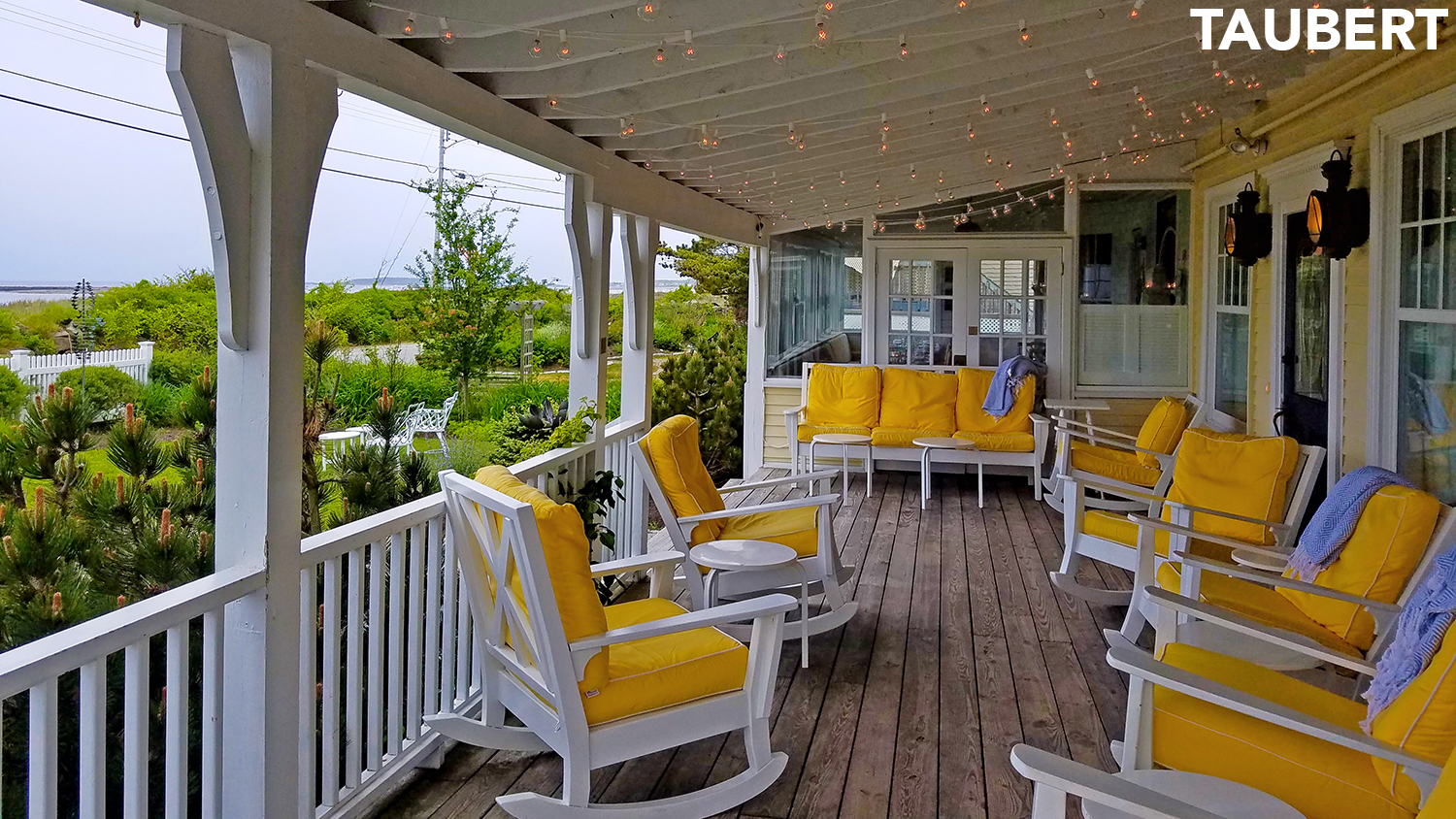 A perfect front porch at Tides Beach ClubNearby Ogunquit   Tides Beach Club in Kennebunkport   Ogunquit  . Porch Dining Room Kennebunkport. Home Design Ideas