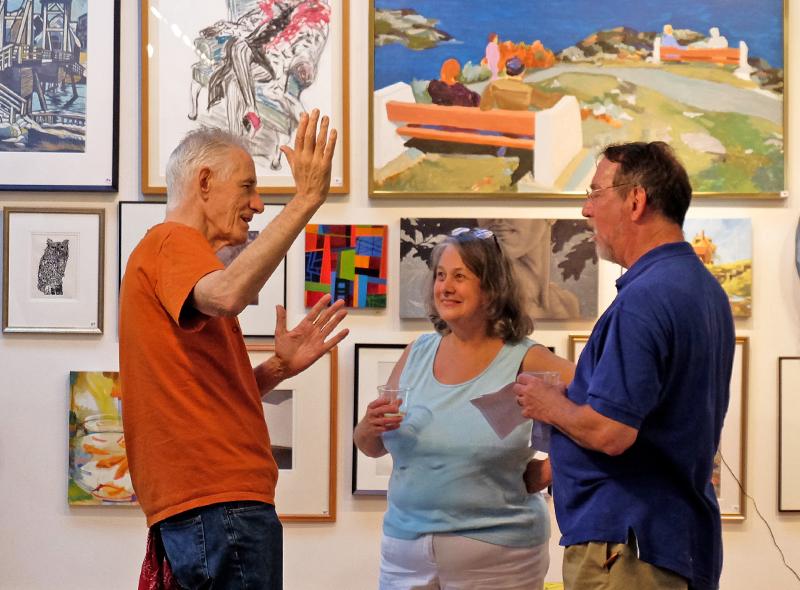 Ogunquit Art Association Art Auction at the Barn Gallery