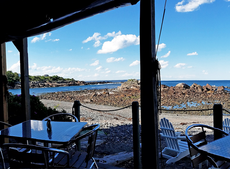 The Trap in Perkins Cove Restaurant